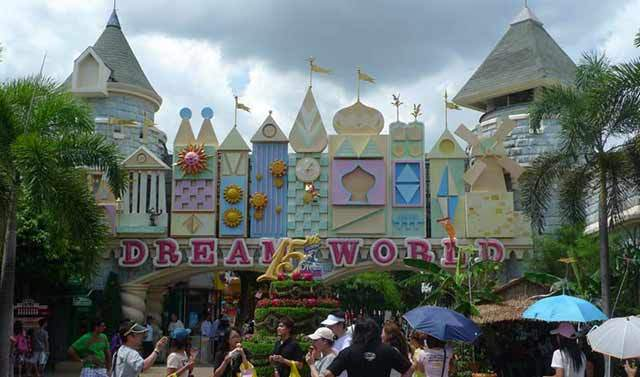 Wisata Dream World Garden Bangkok
