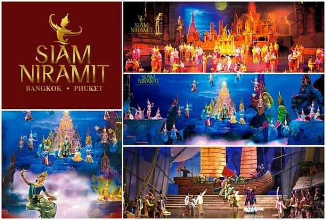 Wisata Siam Niramit Show Bangkok