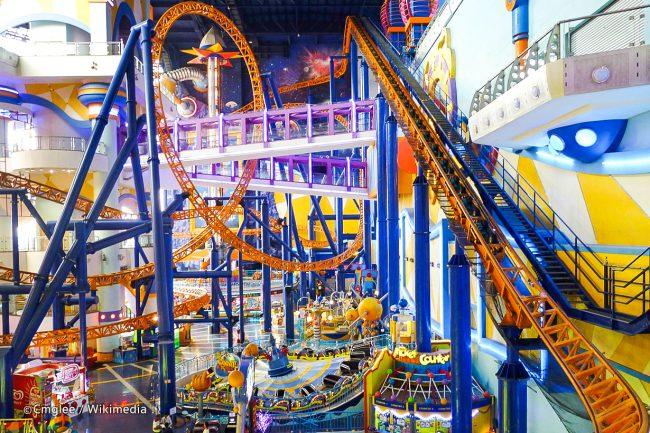 Berjaya Time Square Theme Park via Wikipedia