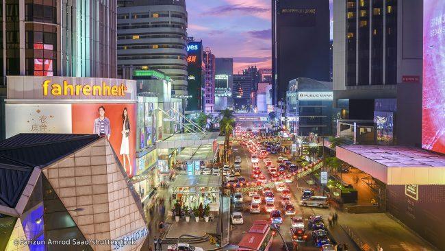 Bukit Bintang Walkway Malaysia via Shutterstock