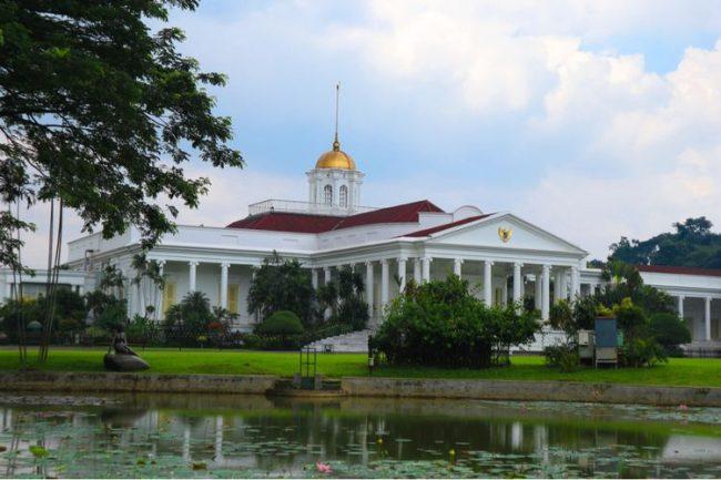 Istana Bogor via Kompas