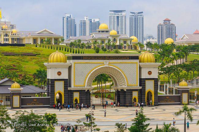 Istana Negara Malaysia via Wikimedia
