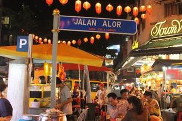 Jalan Alor via Kompas - Tempat Wisata di Kuala Lumpur