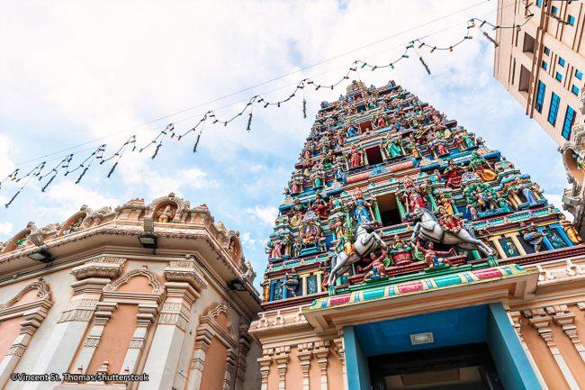 Sri Mahamariamman Malaysia via Shutterstock