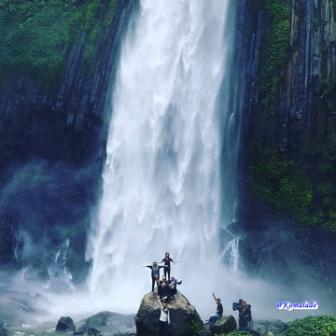 Air Terjun Tri Muara Karang - tempat wisata di Bengkulu