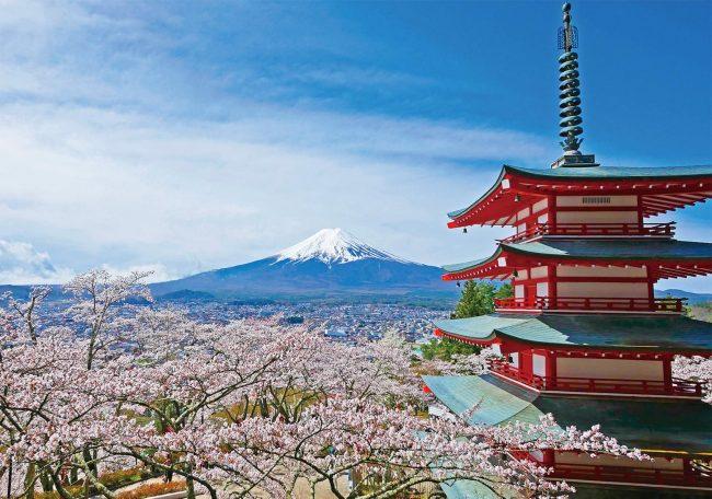 Chureito Pagoda via matcha-jp