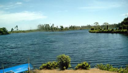Danau Nibung Mukomuko Bengkulu - tempat wisata di Bengkulu