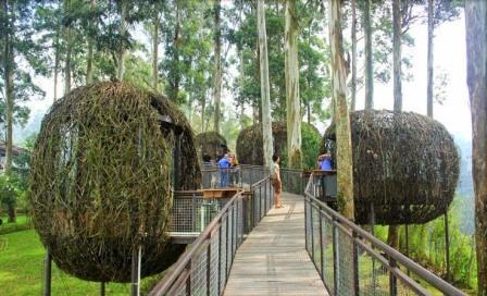 Destinasi Wisata Dusun Bambu Lembang Bandung