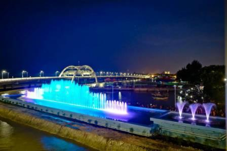 jembatan baru kenjeran surabaya tempat wisata terbaru di