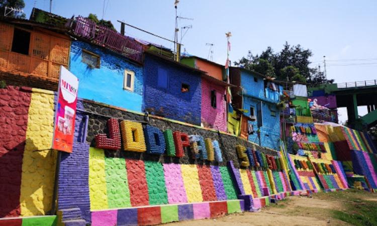 Kampung Warna Warni Jodipan via Google Maps