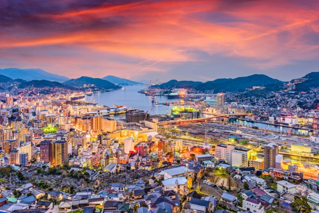 Kota Nagasaki jepang via Minews