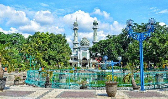 Lokasi Alun-alun kota Malang