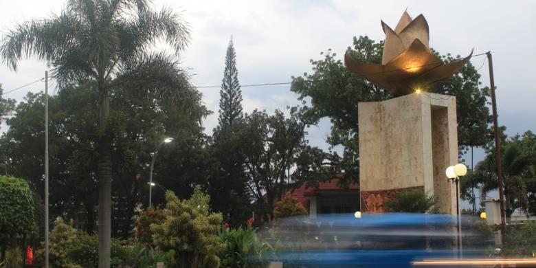 Monumen Melati Kota Malang via Kompas