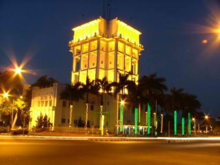 objek wisata gedung kantor walikota palembang