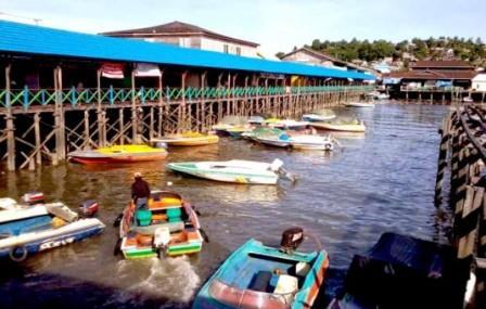 Obyek Wisata Kampung Atas Air Margasari Balikpapan
