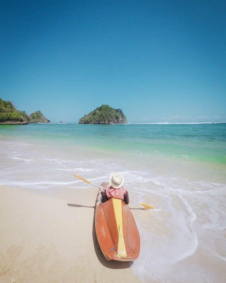 Pantai Gatra via IG @nindiaputrisuhari