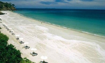 Pantai Surga - tempat wisata di Lombok