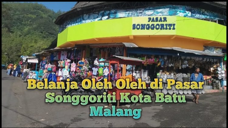 Pasar Wisata Songgoriti via Youtube'