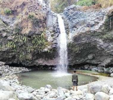 Pesona Curug Sentul Cawitali - tempat wisata di Tegal