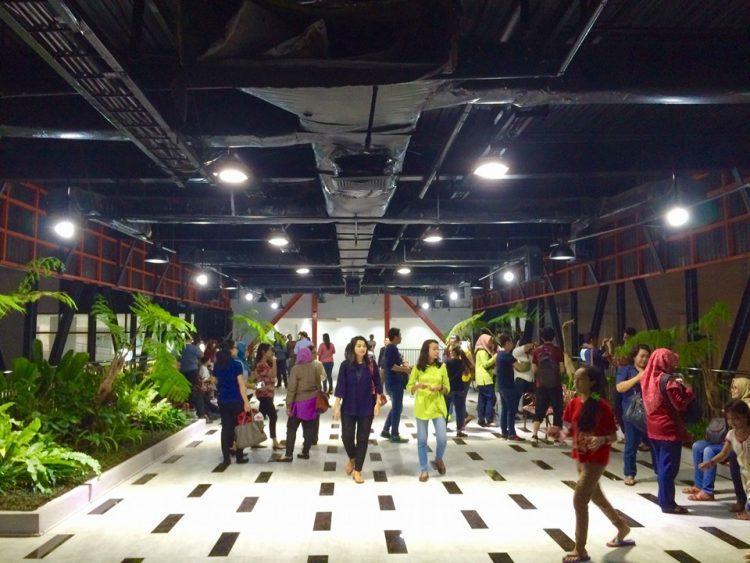 Taman Gantung Surabaya via Facebook Kota Surabaya