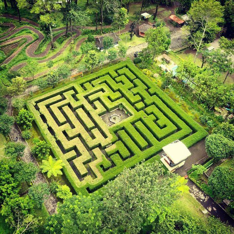 Taman Labirin via Anttour
