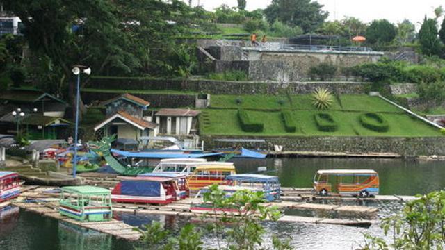 Taman Rekreasi Danau Lido Sukabumi via liputan6