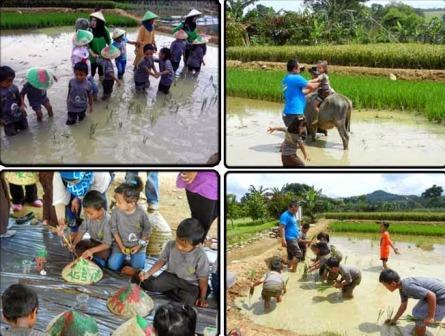 Tempat Bermain Kampung Agrowisata Sentul