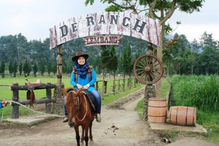 Tempat Wisata Alam De'Ranch Lembang - tempat wisata di Lembang bandung