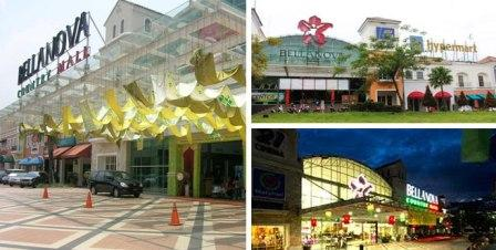 Tempat Wisata Belanja Bellanova Country Mall Sentul
