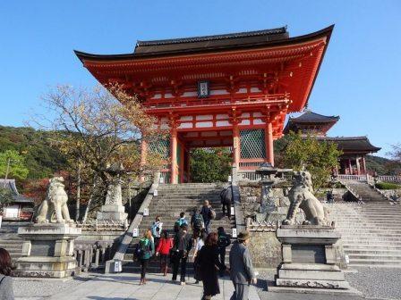 Tempat Wisata Candi Budha Kiyomizu-dera di Jepang