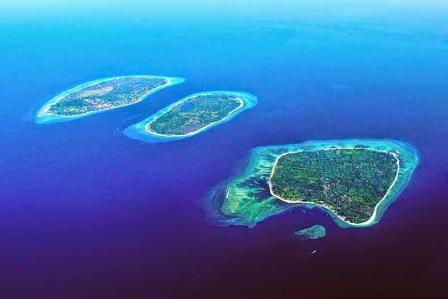 Tempat Wisata Gili Air, Gili Meno, dan Gili Trawangan di Lombok