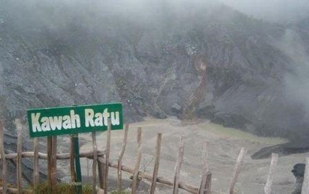 Tempat Wisata Kawah Ratu Sukabumi