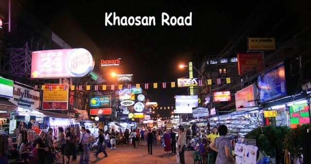 Tempat Wisata Khaosan Road Bangkok