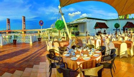 Tempat Wisata Kuliner Kampung Kapitan di Palembang