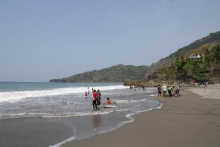 Tempat Wisata Pantai Cibangban di Sukabumi