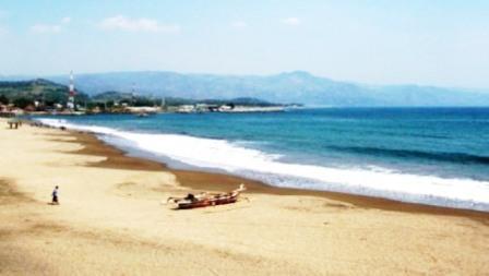 Tempat Wisata Pantai Cimaja Sukabumi