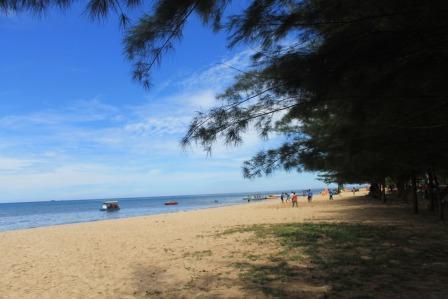 Tempat Wisata Pantai Manggar Segara Sari balikpapan