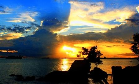 Tempat Wisata Pantai Melawai Balikpapan