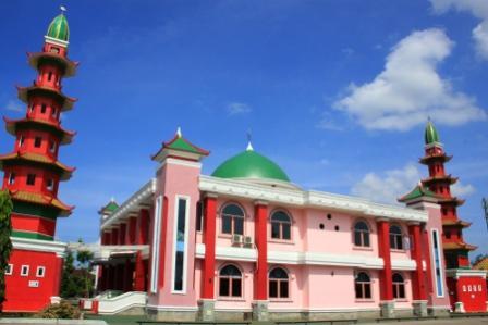 Tempat Wisata Religi Masjid Cheng Ho Palembang