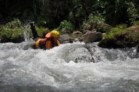 Tempat Wisata Riverboarding di Kali Pusur Klaten
