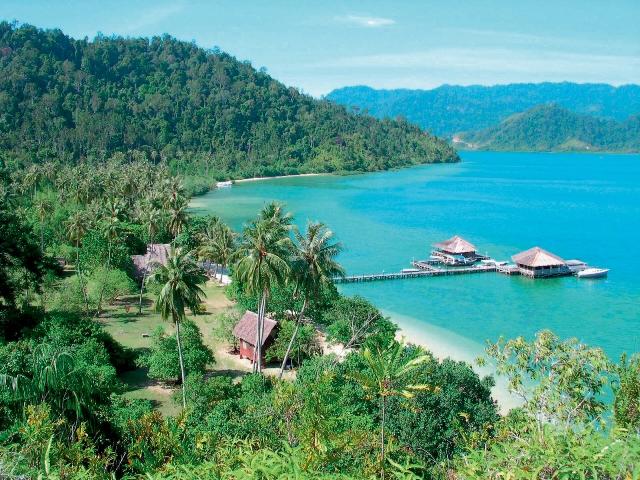 Tempat Wisata di Pulau Cubadak Padang - Rekomendasi Tempat Wisata Padang yang Mendunia