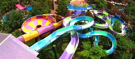 The Amanzi Waterpark CitraGrand City - tempat wisata di Palembang
