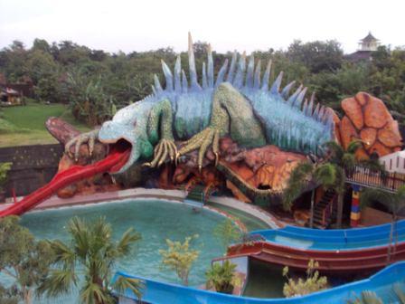 Tiara Park Waterbom - tempat wisata di Jepara
