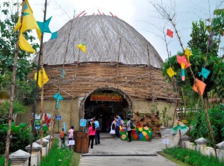 Wahana Wisata Eco Green Park Malang