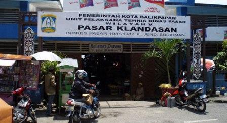 Wisata Belanja Pasar Klandasan Balikpapan