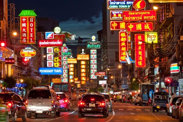 Wisata China Town Bangkok