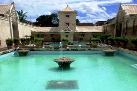 Wisata Istana Air Taman Sari di Jogja