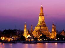 Wisata Kuil Fajar (Wat Arun) Bangkok