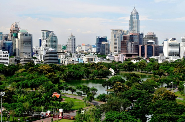 Wisata Lumpini Park Bangkok