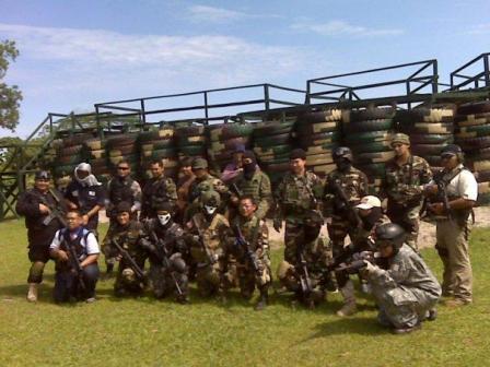 Wisata Militer Angkasa Air Soft Gun Area Balikpapan